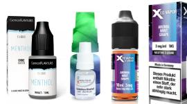 Großes Angebot an Menthol Liquids