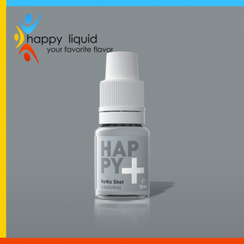 HAPPY+ NoNic Shot für shake x vape von Happy Liquid
