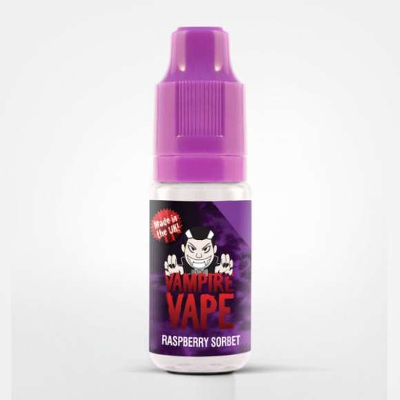 Raspberry Sorbet eLiquid by Vampire Vape